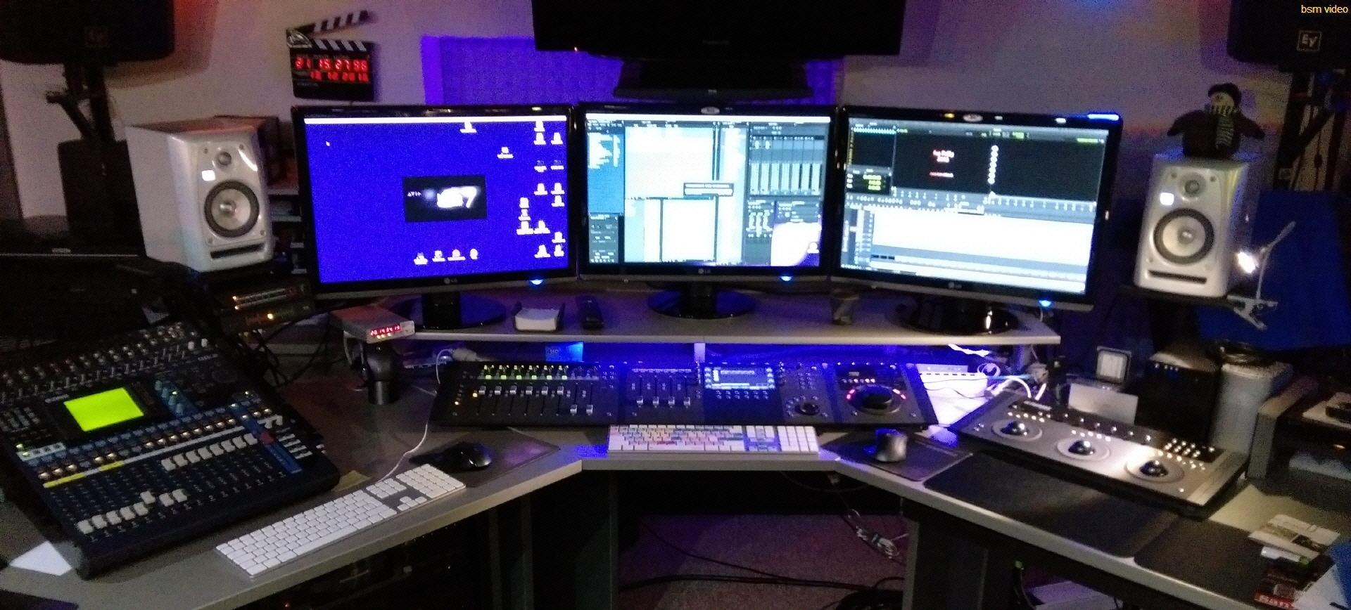 Post production for Ordinateur pour montage photo